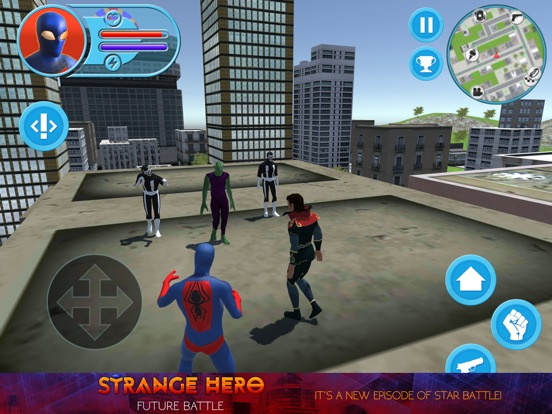 Strange Hero: Future Battle для iPad