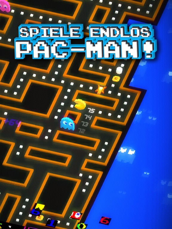 PAC-MAN 256 - Endless Arcade Maze Screenshot