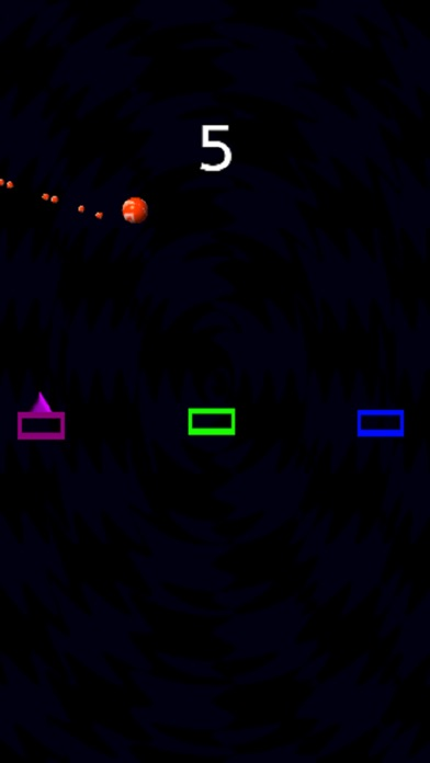 Orange Bouncing Ball Screenshot