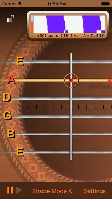 inTuna Strobe Guitar Tuner Screenshots