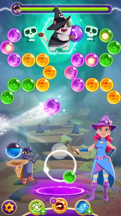 Screenshot of Bubble Witch 3 Saga6