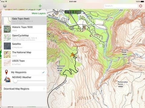 Gaia GPS Topo Bundle On The App Store - Us topo maps pro
