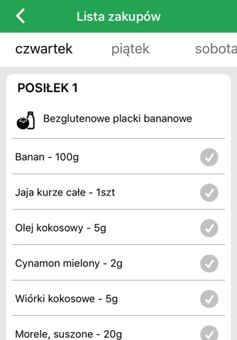 Dieta wegetariańska screenshot 3