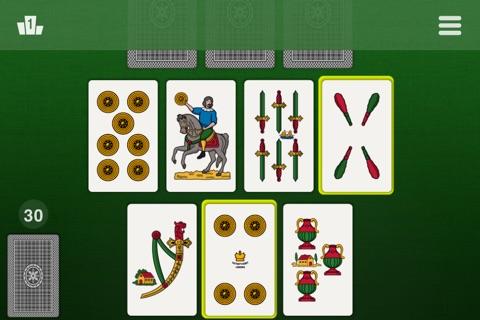 La Scopa - Classic Card Games screenshot 3