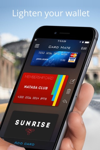 Card Mate Pro- credit cards screenshot 1