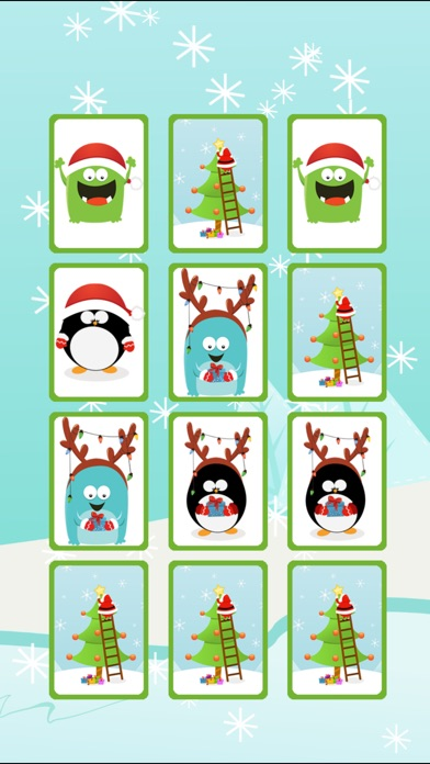 download Christmas Penguin Card Game HD apps 1