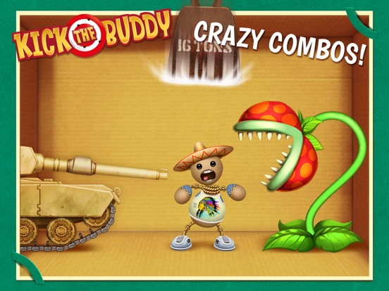 Kick the Buddy Скриншоты11