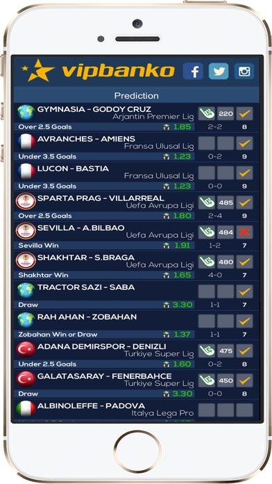 Screenshot of VIP Pronostici Calcio Serie A3