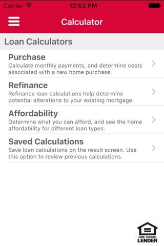 George Mason Mortgage Mobile screenshot 2