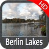 Berlin Lakes HD GPS fishing chart