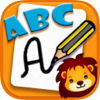 Aprender a escribir ABC caligrafía para niños
