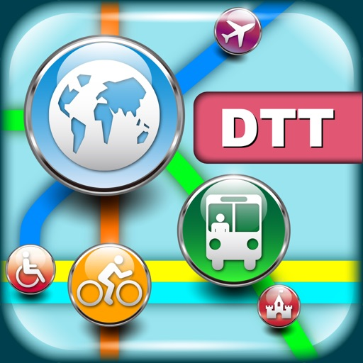 底特律(美国)地图  Detroit Maps - Download Smart Bus Maps and Tourist Guides.