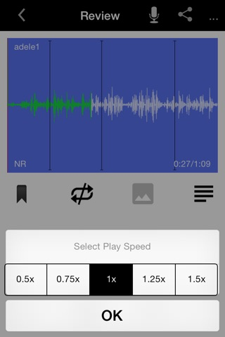 ClearRecord Pro – Noise free voice recorder screenshot 1