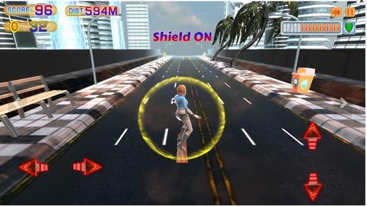Surfer Chick: Dash, Jump & Dodge Skate 3D Action Screenshot