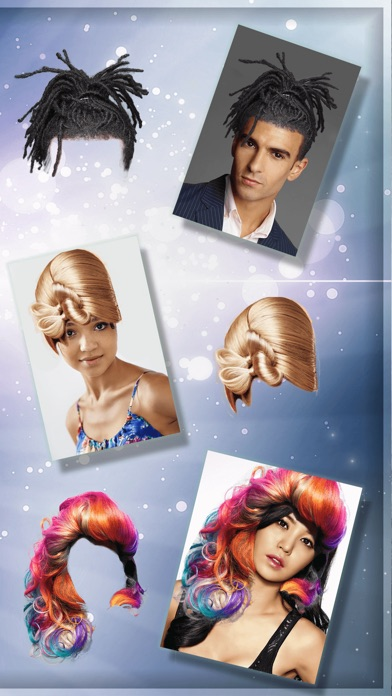Funny Hairstyles Photo Booth Hair Changer Game-1
