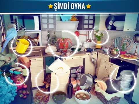 Hidden Object Messy Kitchen -Seek and Find Objects screenshot 3
