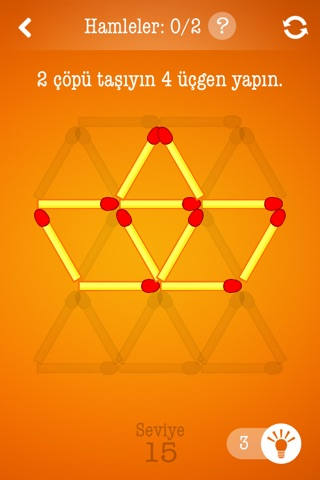 Matchsticks ~ Free Puzzle Game with Matches screenshot 2