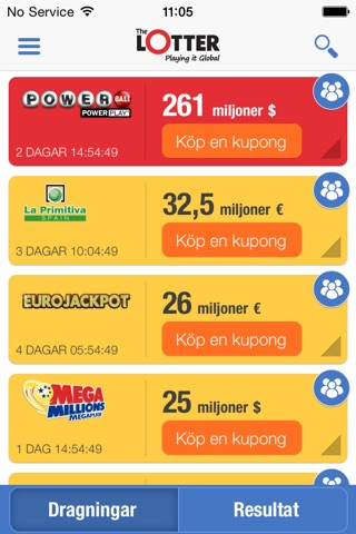 Lottery Results - theLotter screenshot 1