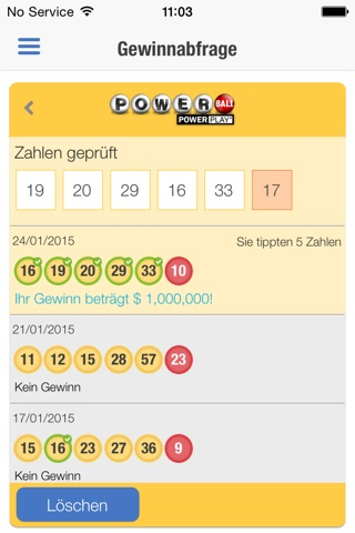 Lottery Results - theLotter screenshot 4