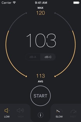 dB Decibel Meter - sound level measurement tool screenshot 3