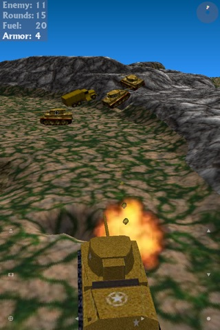 Tank Ace 1944 HD screenshot 2