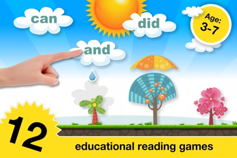 Phonics Fun on Farm Educational Learn to Read App screenshot 1