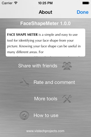 Face Shape Meter - find out face shape from photo screenshot 2