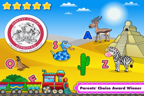 Kids Phonics A-Z, Alphabet, Letter Sounds Learning screenshot 1