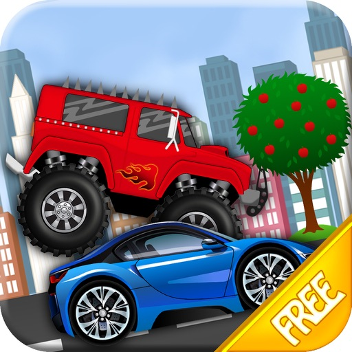 Kids Car Racing Game iOS App