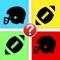 College Football Team Quiz - Guess the NCAA Football Helmets