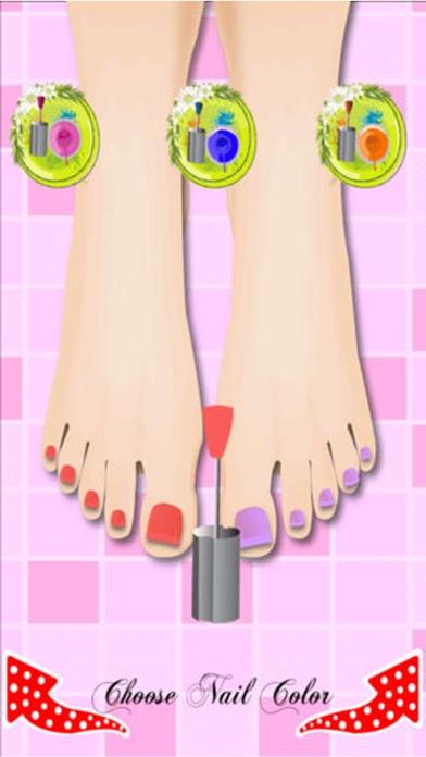 プリンセスつま先ドレスアップ - 女の子の子供ホットファッション無料化粧ゲーム - おとぎ話の彼女のシンデレラや白雪姫を作りますのスクリーンショット2