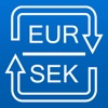 Euro to Swedish krona and SEK to EUR converter