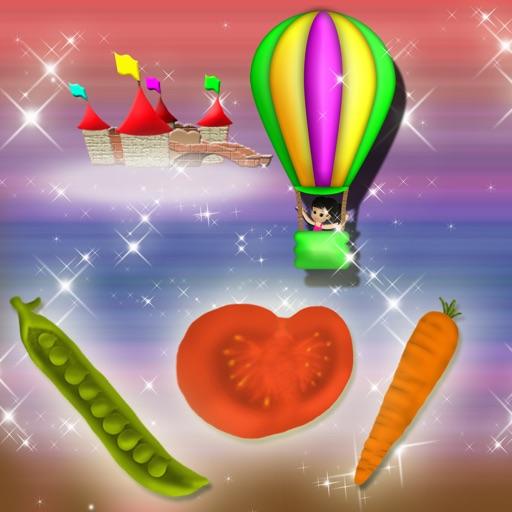 Vegetables Ride Simulator Game iOS App