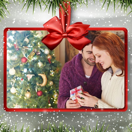 Holiday Christmas Photo Frame - Foto Montage iOS App