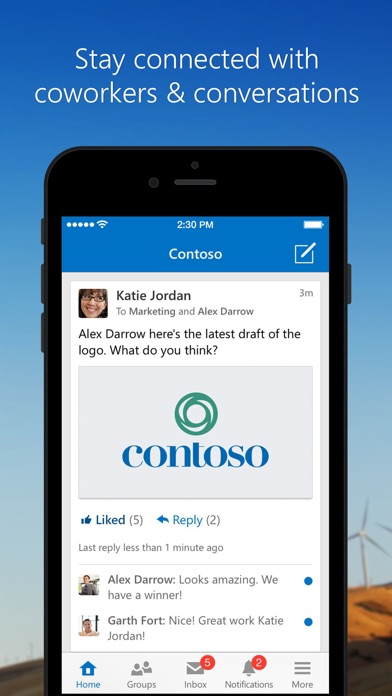 download Yammer apps 3