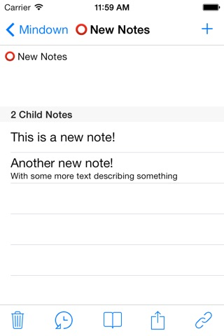 Mindown - The best for Notes, Todos and Lists screenshot 2