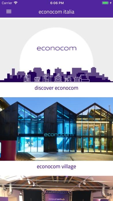 Screenshot of Econocom Italia3