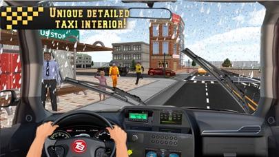 In Taxi: Drive Simulation 2016 screenshot 1