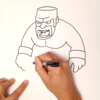 How To Draw - Learn to draw Pictures for Clash of Clans and practice drawing in app