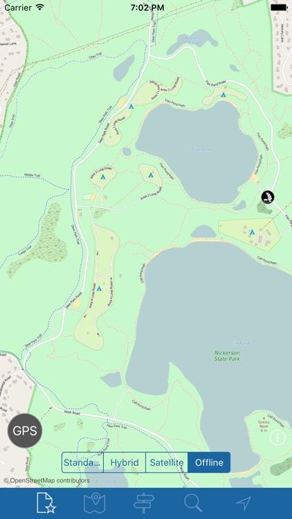 Nickerson State Park & State POI\'s Offline by Pavan Kumar