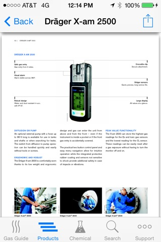 Gas Detection screenshot 2