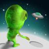 Mini Alien Sky Race - new block run challenge