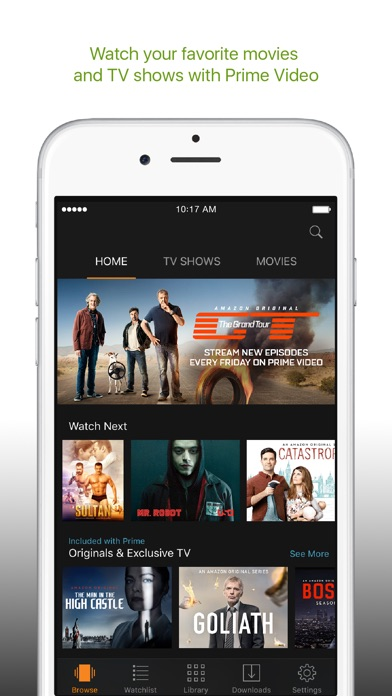 Amazon Prime Video on the App Store