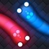 Super Crazy Snake: Worm IO Multiplayer Online Slither War Game - Free Skins Version