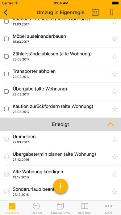 Screenshot von Umzugshelfer für Ihren Umzug – Problemlos umziehen1