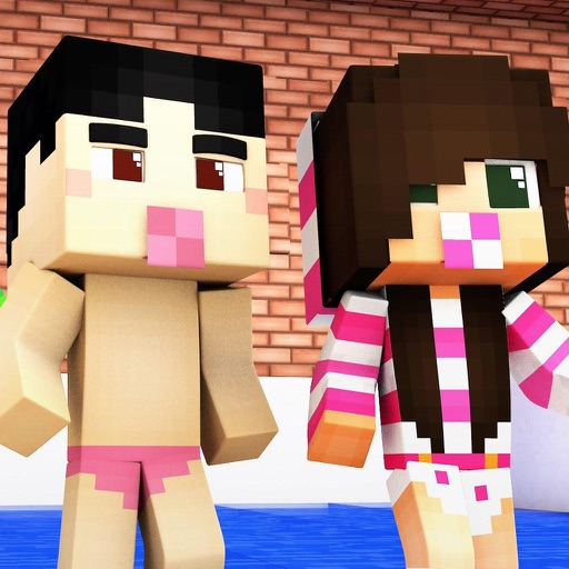 BABY SKINS FREE Aphmau FNAF Skin for Minecraft PE Icon