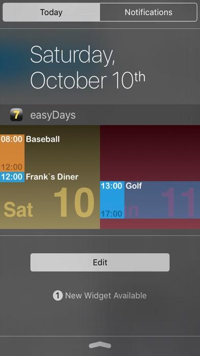 easyDays Screenshots
