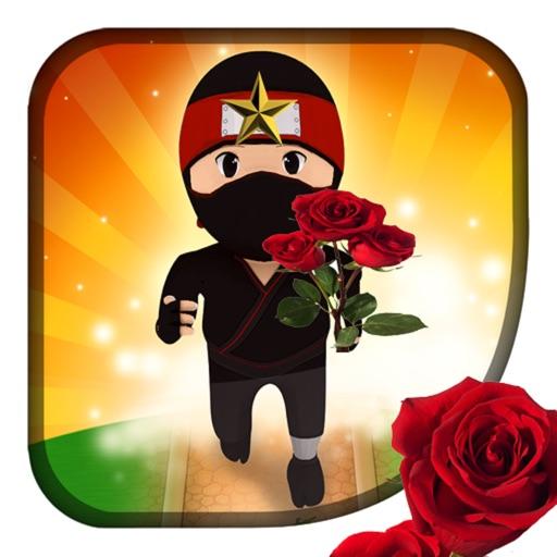 Ninja Bouncing and Rolling iOS App