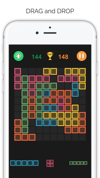 Color Block - Super Square and Hexagon Screenshot