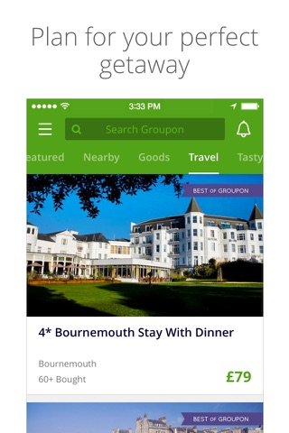 Groupon screenshot 4